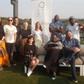 Front row from left to right: Alettie Marx, Palesa Motiki, Brett Morris