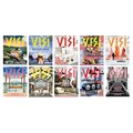 Various Visi covers.