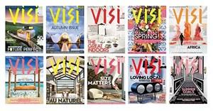 Various Visi covers.