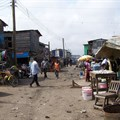 Slum neighbourhood in Accra, Ghana. Image source:
