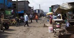 Slum neighbourhood in Accra, Ghana. Image source:
