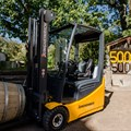 Jungheinrich delivers its 50,000th second-hand forklift truck