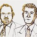 James P. Allison and Tasuku Honjo, 2018 Nobel Laureates in Physiology or Medicine. Niklas Elmehed. Copyright: Nobel Media AB 2018