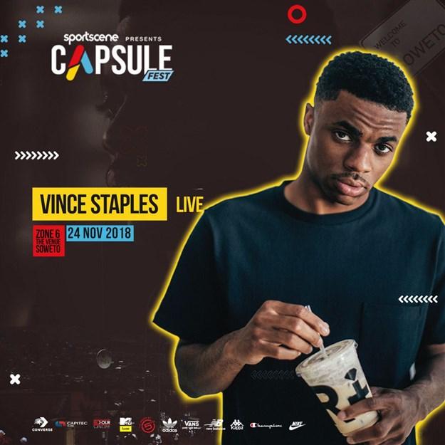 Vince Staples to headline 2018 Capsule Fest