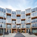 BIG completes curvy affordable housing in Copenhagen