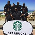 STARBUCKS arrived in Durban with a BANG...