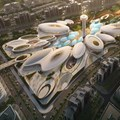 First phase of ZHA's droplet-shaped entertainment complex set for 2019 completion