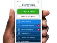 Distributor app enters market