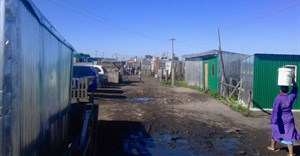 Over 500 people have occupied land owned by Oasis Crescent Property company. Photo: Bernard Chiguvare