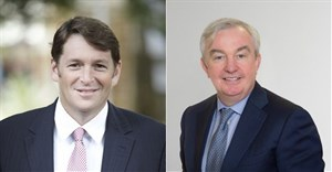 L-R: Dr Andrew Golding, chief executive of the Pam Golding Property group and Stephen McCarthy, founder and CEO at BidX1