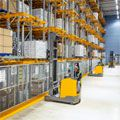 Automated warehouse with new contour control