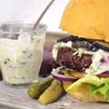 #GreenMondaySA: Vegan beetroot and lentil burger with coriander alioli