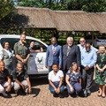 Toyota donates Hilux to assist anti-poaching activities