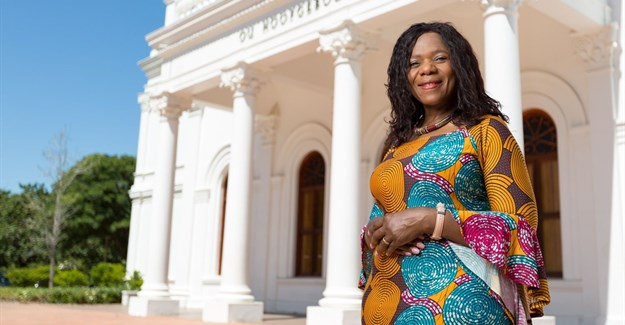 Professor Thuli Madonsela, Law Trust chair of social justice in the Faculty of Law at Stellenbosch University (SU)