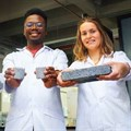 SA student produces world's first bio-brick made using human urine