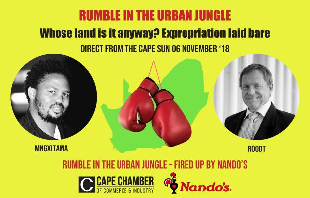 Nando's to fire up the Chamber's 'Rumble in the Urban Jungle'