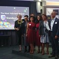 Standardbank team announced as the country's most valuable brand at the inaugural BrandZ Top 30 Most Valuable South African Brands.