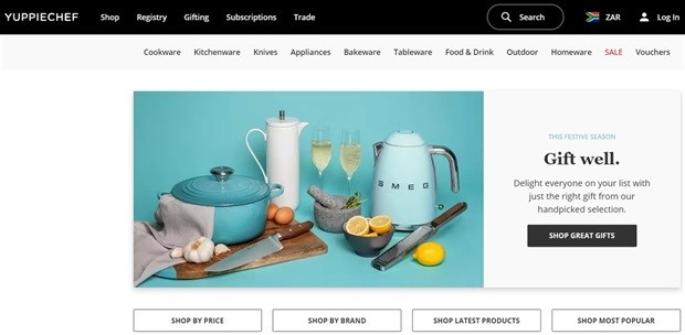 Yuppiechef scoops title of SA's Online Retailer of the Year