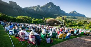 Kirstenbosch Summer Concerts attract over 75,000 visitors per year