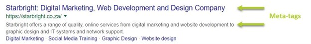 Website elements that are essential to making your website search engine friendly