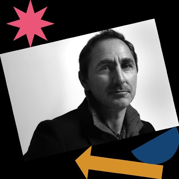 David Droga in the 2019 Design Indaba campaign.