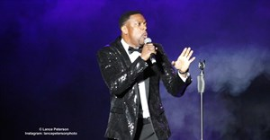 Chris Tucker, live at the GrandWest Arena in Cape Town. © Lance Peterson.