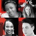 Top (l-r): Cindy Mkaza-Siboto, Sam Beckbessinger, Carryn Ortlepp, Tegan Phillips. Middle (l-r): Ndoni Mcunu, Lauren Jacobs, Penelope Cox, Nicki Spies, Ruth Hall. Bottom (l-r): Verity Price, Adewale Adejumo, Richard Mulholland, Jared Molko, Preston Jongbloed.