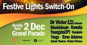 Top acts to usher in holiday season at festive lights switch-on