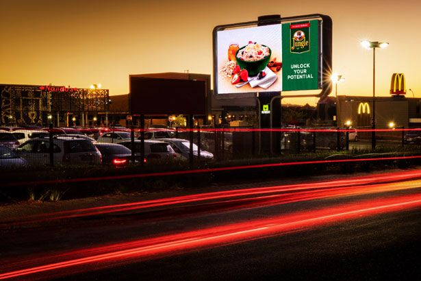 Outdoor Network launches rotating digital LED outside Cresta Mall