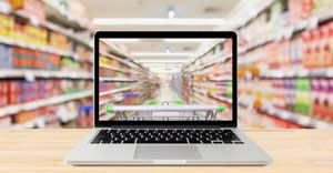 Online sector shows excellent growth potential for grocery