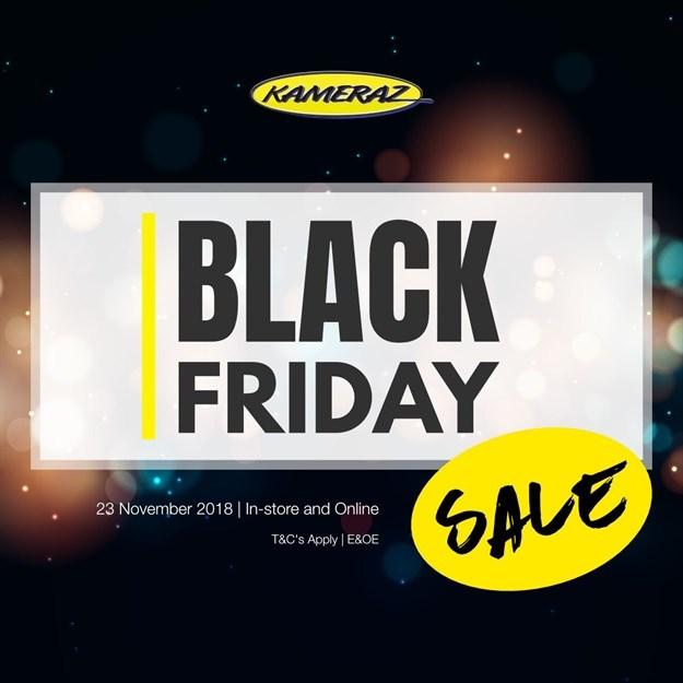 This year's hot Black Friday deals on photographic equipment from Kameraz