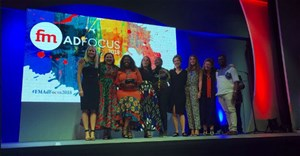 Collective ID, small agency of the year at the FM AdFocus Awards 2018. Image © Lynne Joffe .