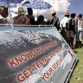 "The theme for World Aids Day is ""know your status"". EPA"
