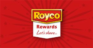Introducing the first-ever single-brand rewards programme in South Africa - Royco Rewards