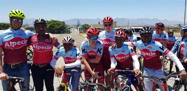 Alpecin's Willie Smit donates bikes, kit to development cycling