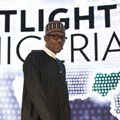 Nigeria's President Muhammadu Buhari at the US-Africa Business Forum in New York in 2016. EPA/Drew Angerer