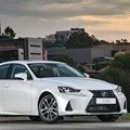 Lexus IS goes hybrid in SA