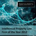 IP is in our DNA! Adams & Adams named Law Firm of the Year 2019