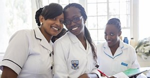 At about 21 million strong, nurses make up half of the world's health workforce. SIM USA/Shutterstock
