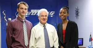 Boeing selects two South African students to join IBIP
