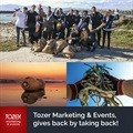 Tozer Marketing & Events gives back by taking back