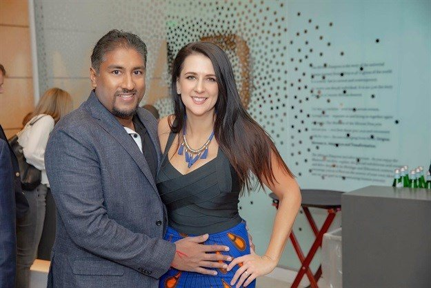 The fundraiser was hosted and organised by Silicon Valley-based South Africans Vinny and Charlene Lingham.