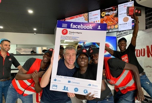Pizza Hut opens in Nigeria