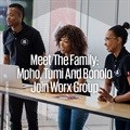 Meet the family: Mpho, Tumi and Bonolo join Worx Group