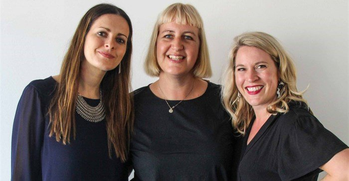 The SheSays Cape Town founders are brand strategist Marina Tokar, content strategy director Anelde Greeff and senior copywriter Johannie Van As.