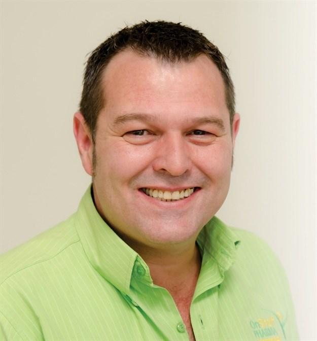 Eben Esterhuizen, general manager, OnShelf Pharma.
