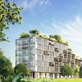 "Stefano Boeri Architetti unveils design for ""greenest building"" in Belgium"