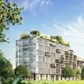 """Stefano Boeri Architetti unveils design for """"greenest building"""" in Belgium"""