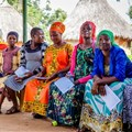 Pregnant women waiting to see a doctor at a hospital in Uganda. Shutterstock