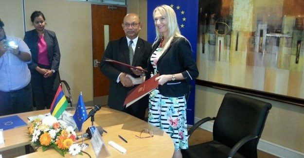 The European Union and the Republic of Mauritius step up their partnership in climate change. (Source: Delegation of the European Union to the Republic of Mauritius and the Republic of Seychelles)